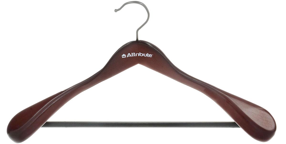 Вешалка для верхней одежды Attribute Hanger Redwood, цвет: красное дерево, длина 44 см1004900000360Вешалка для верхней одежды Attribute Hanger Redwood выполнена из дерева и оснащена перекладиной с нескользящим покрытием. Вешалка - это незаменимая вещь для того, чтобы ваша одежда всегда оставалась в хорошем состоянии.Длина вешалки: 44 см.