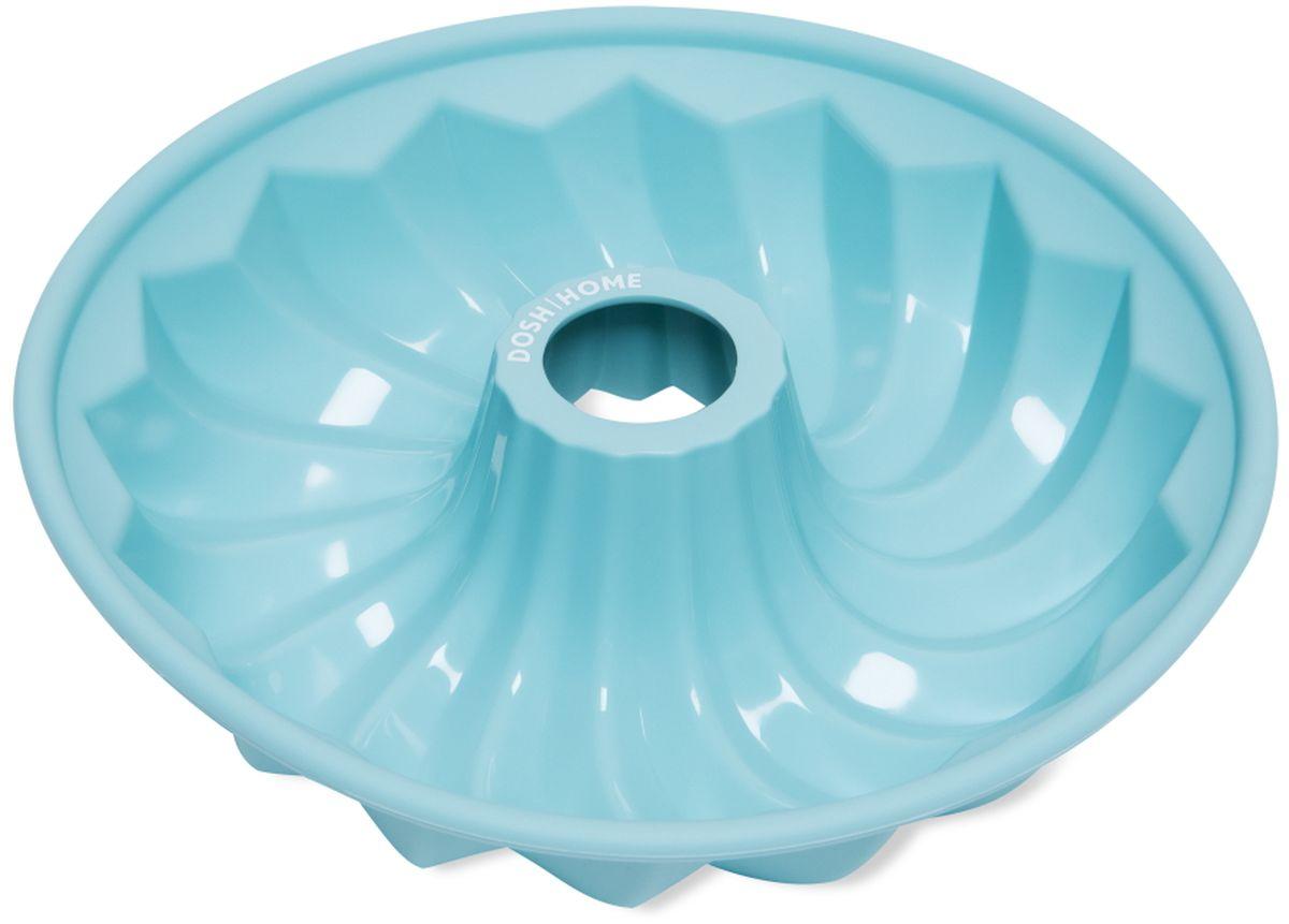 Форма для выпечки кекса Dosh l Home PAVO, круглая, силиконовая, диаметр 25 смTK 0232Форма для выпечки кекса Dosh l Home PAVO отлично подходит для приготовления сладких и соленых блюд. Форма предотвращает пригорание, поэтому по окончании выпекания продукт легко вынимается из формы. Изготовлено из термостойкого силикона высокого качества. Выдерживает температуру до 230 °C. Форму легко чистить, она не занимает много места. Форма подходит для приготовления пищи в газовых, электрических и конвекторных печах, можно мыть в посудомоечной машине.Диаметр: 25 см.