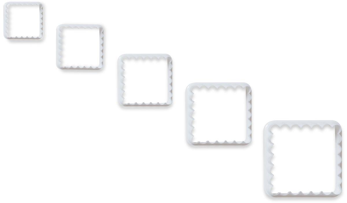 Формочки для вырезания печенья Dosh l Home PAVO, квадратные, 5 шт. 30027354 009305Формочки Dosh l Home PAVO прекрасно подходят для легкого вырезания печенья 5 разных размеров из песочного, пряничного теста и теста для печенья. Изготовлены из высококачественного пластика.