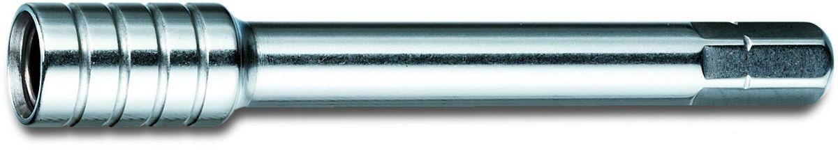 Удлинитель сменный Victorinox SwissTool, для мультитулов, цвет: серый металлик010-01199-01Идеальный аксессуар добавляет последний,но крайне важный штрих любому ножу Victorinox.Поэтому для каждого товара предлагается чехол для безопасного хранения в кармане или под рукой на ремне.Каким будет ваш чехол : из кожзаменителя,натуральной кожи или нейлона?Черный,красный,корчневый,зеленый или флоуресцентный?Вы предпчтете модель с петлей для ремня или с удобной вращающейся клипсой?Выбор за Вами!Благодаря богатому выбору цепочек с панцирным плетением,карабинов,крючков для ремня и цветных шнуроввы сможете добавить больше характера,при этом инструмент Victorinox будет всегда под руккой,и вы больше не рискуеет потерять его. Сменный удлинитель VICTORINOX для мультитулов SwissTool, нержавеющая сталь