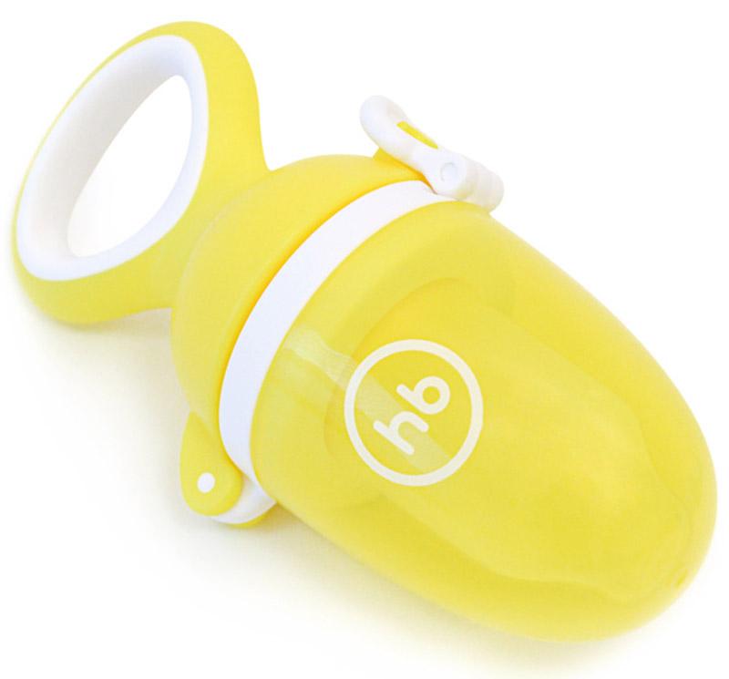 Happy Baby Ниблер силиконовый Nibbler Twist цвет желтый - Все для детского кормления