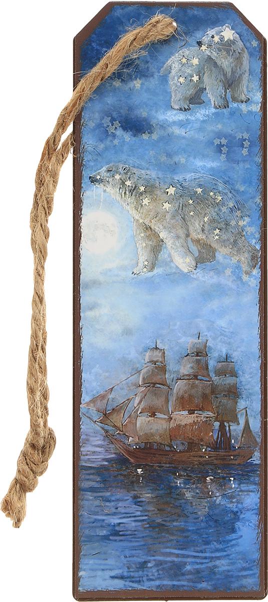 Magic Home Закладка декоративная для книг Большая медведицаFS-00897Декоративная закладка для книг Magic Home Большая медведица - великолепный подарок для тех, кто не мыслит свою жизнь без книг.Закладка представляет собой пластину из черного окрашенного металла с текстильным шнурком.Закладка украсит не только книгу, но сделает нарядным и оригинальным стандартный органайзер или семейный альбом.