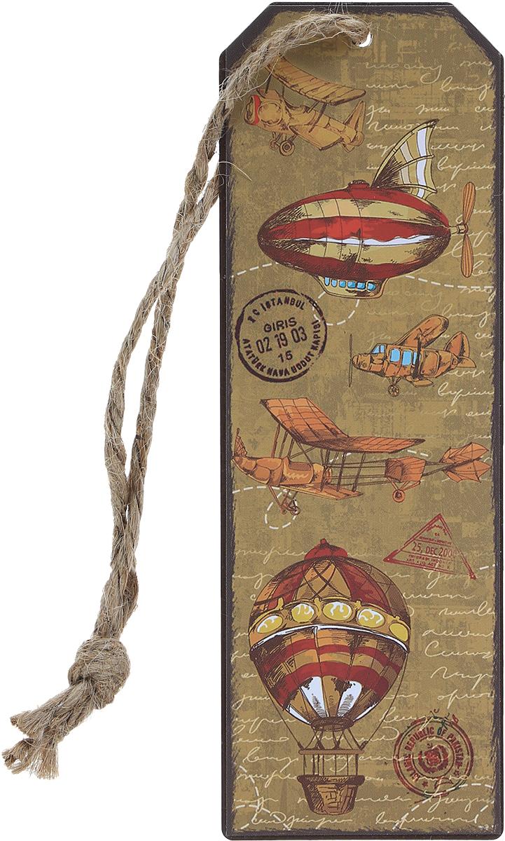 Magic Home Закладка декоративная для книг Самолеты и дирижабли -  Закладки для книг