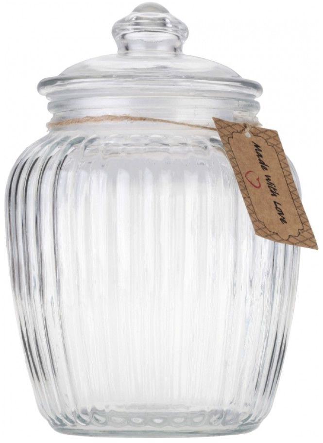 Банка для хранения Walmer Wave, 1,72 лВетерок-2 У_6 поддоновБанка для хранения Walmer Wave изготовлена из прочного граненого стекла. Изделие снабжено крышкой, которая плотно закрывается благодаря пластиковому уплотнителю. Изделие имеет прозрачные стенки, поэтому всегда видно, что именно находится внутри. Банка удобна для хранения круп, сахара, специй, кофе или чая. Она стильно дополнит интерьер и поможет эффективно организовать пространство на кухне.