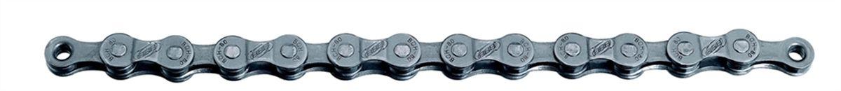 Цепь велосипедная BBB PowerLine, цвет: серый, 8 скоростей, 114 линковBCH-80Восьмискоростная цепь BBB PowerLine выполнена из прочного металла. Имеет 114 линков. Закрывающее звено SmartLink II (BCH-08).