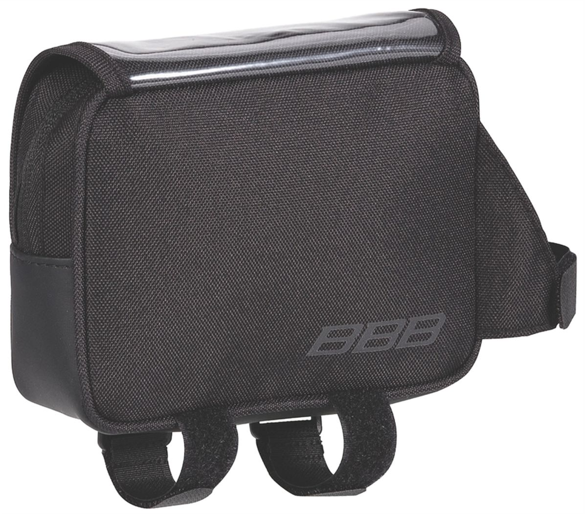 Велосумка под раму BBB TubeTopPack, цвет: черныйZ90 blackСумка BBB TubeTopPack спроектирована специально для установки на верхней трубе. Имеет один большой отсек для хранения питательных батончиков, кошелька, ключей, фотоаппарата и других мелочей. Прозрачное покрытие предназначено для чтения карт или путевых отметок. Нескользящий материал нижней части сумки. Черный светоотражающий материал по бокам обеспечивает безопасность на дороге. 3 застежки Velcro обеспечивают надежное крепление сумки.