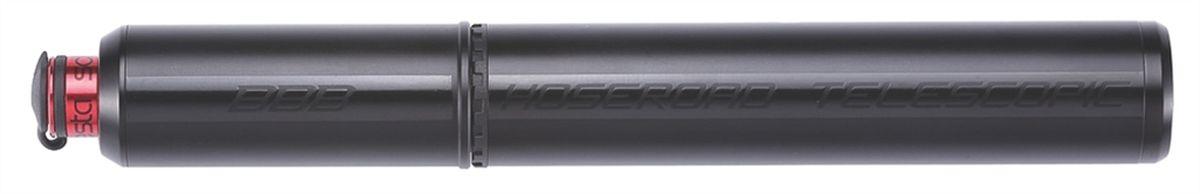 Насос велосипедный BBB HoseRoad Telescopic, ручной, цвет: черный, 190 ммRivaCase 8460 aquamarineТелескопический, легкий насос BBB HoseRoad Telescopic выполнен из алюминия 6061 T6 мини-насос. Универсальный шланг на ниппели как PRESTA так и Schrader. Извлекаемый шланг делает легким доступ к ниппелям Presta или Schrader. Крышка на шланге оставляет чистым клапан. Имеет компактный дизайн с высокой интенсивностью накачки.Монтажный кронштейн в комплекте.Надувает до 8 бар / 115 psi.Длина: 190 мм.