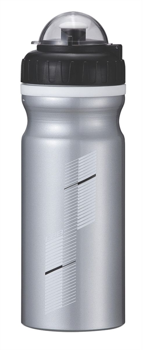 Бутылка для воды BBB AluTank, велосипедная, цвет: серебристый, черный, 680 млBBC-35LБутылка для воды BBB AluTank изготовлена из высококачественного алюминия, безопасного для здоровья. Закручивающаяся крышка с герметичным клапаном для питья обеспечивает защиту от проливания. Оптимальный объем бутылки позволяет взять небольшую порцию напитка. Она легко помещается в сумке или рюкзаке и всегда будет под рукой. Такая идеальная бутылка небольшого размера, но отличной вместимости наполняет оптимизмом, даря заряд позитива и хорошего настроения. Бутылка для воды - отличное решение для прогулки, пикника, автомобильной поездки, занятий спортом и фитнесом.