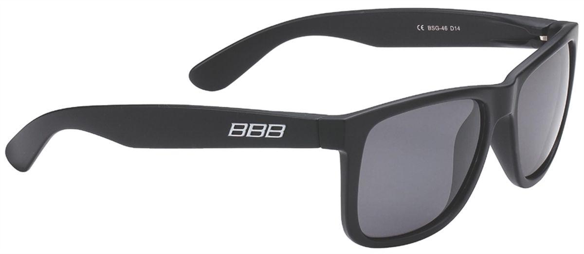 Очки солнцезащитные BBB Street PZ PC MLC Polarised Lenses, цвет: черный bbb adapt fulframe pc mlc blue lenses white blue bsg 45