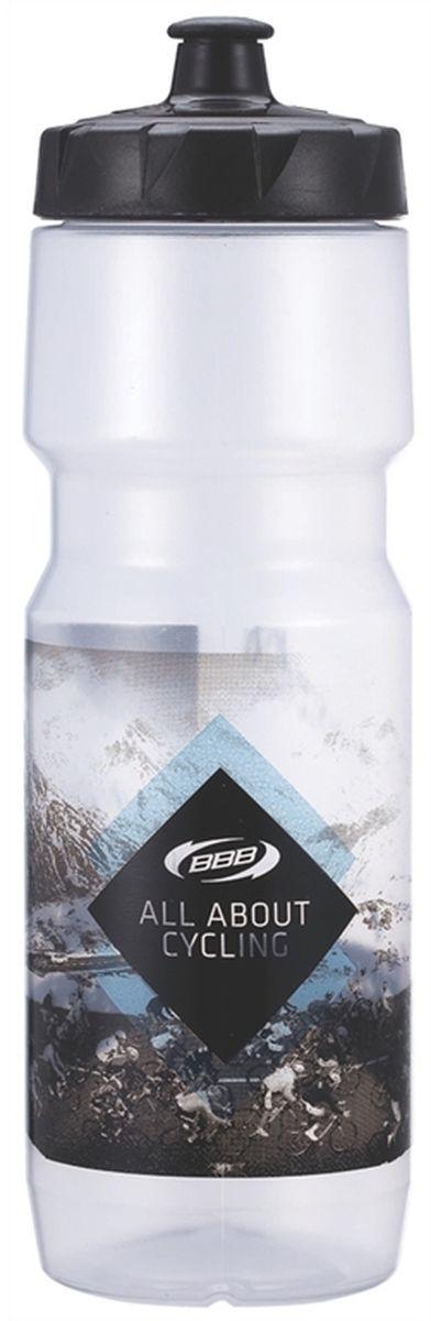 Бутылка для воды BBB CompTank, велосипедная, цвет: прозрачный, 750 млH20BHБутылка для воды BBB CompTank изготовлена из высококачественного полипропилена, безопасного для здоровья. Закручивающаяся крышка с герметичным клапаном для питья обеспечивает защиту от проливания. Оптимальный объем бутылки позволяет взять небольшую порцию напитка. Она легко помещается в сумке или рюкзаке и всегда будет под рукой. Такая идеальная бутылка небольшого размера, но отличной вместимости наполняет оптимизмом, даря заряд позитива и хорошего настроения. Бутылка для воды BBB - отличное решение для прогулки, пикника, автомобильной поездки, занятий спортом и фитнесом.