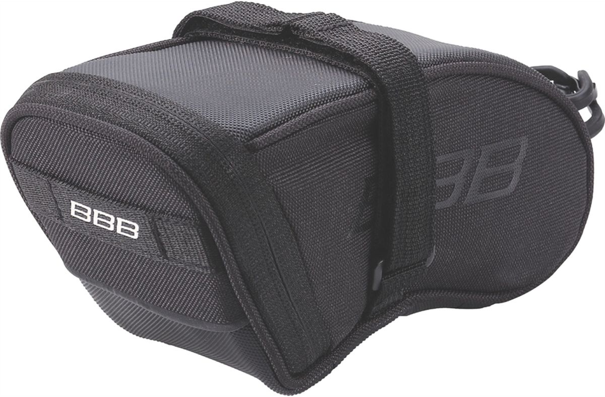 Велосумка под седло BBB SpeedPack, цвет: черный. Размер L велосумка под седло bbb curvepack цвет черный размер m