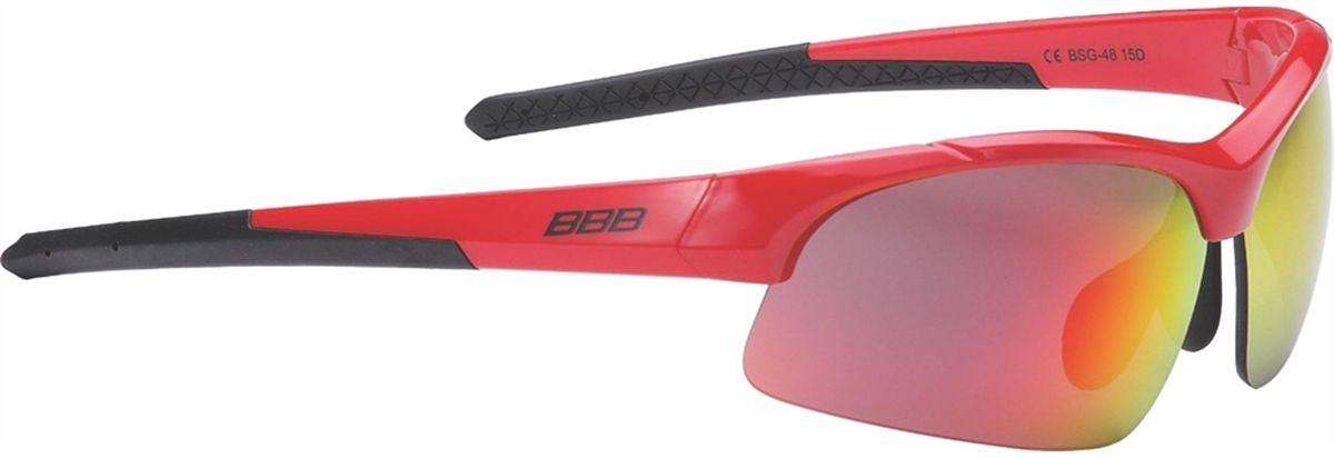 Очки солнцезащитные BBB Impress Small PC Smoke Red Lenses, цвет: красный, черный3615BBB Impress Small PC Smoke Red Lenses - это специальная версия очков для людей с меньшим размером головы. Спортивные очки современного стиля в легкой оправе. Сменные линзы выполнены из поликарбоната. Форма линз обеспечивает защиту от солнца, пыли и ветра.Особенности:100% защита от ультрафиолета.Поликарбонатная оправа с регулируемой переносицей.Мешочек для хранения в комплекте.Дополнительные линзы в комплекте: желтая и прозрачная.