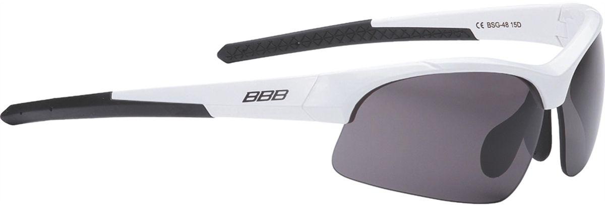 Очки солнцезащитные BBB Impress Small PC Smoke Lenses, цвет: белый, черныйZ90 blackBBB Impress Small PC Smoke Lenses - это специальная версия очков для людей с меньшим размером головы. Спортивные очки современного стиля в легкой оправе. Сменные линзы выполнены из поликарбоната. Форма линз обеспечивает защиту от солнца, пыли и ветра.Особенности:100% защита от ультрафиолета.Поликарбонатная оправа с регулируемой переносицей.Мешочек для хранения в комплекте.Дополнительные линзы в комплекте: желтая и прозрачная.