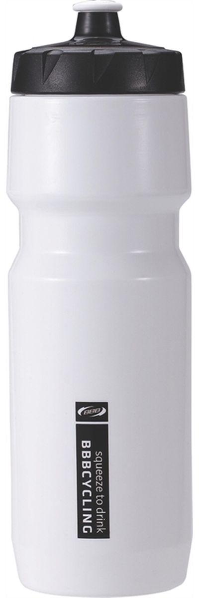 Бутылка для воды BBB CompTank, велосипедная, цвет: белый, черный, 750 мл7292Бутылка для воды BBB CompTank изготовлена из высококачественного полипропилена, безопасного для здоровья. Закручивающаяся крышка с герметичным клапаном для питья обеспечивает защиту от проливания. Оптимальный объем бутылки позволяет взять небольшую порцию напитка. Она легко помещается в сумке или рюкзаке и всегда будет под рукой. Такая идеальная бутылка небольшого размера, но отличной вместимости наполняет оптимизмом, даря заряд позитива и хорошего настроения. Бутылка для воды BBB - отличное решение для прогулки, пикника, автомобильной поездки, занятий спортом и фитнесом.