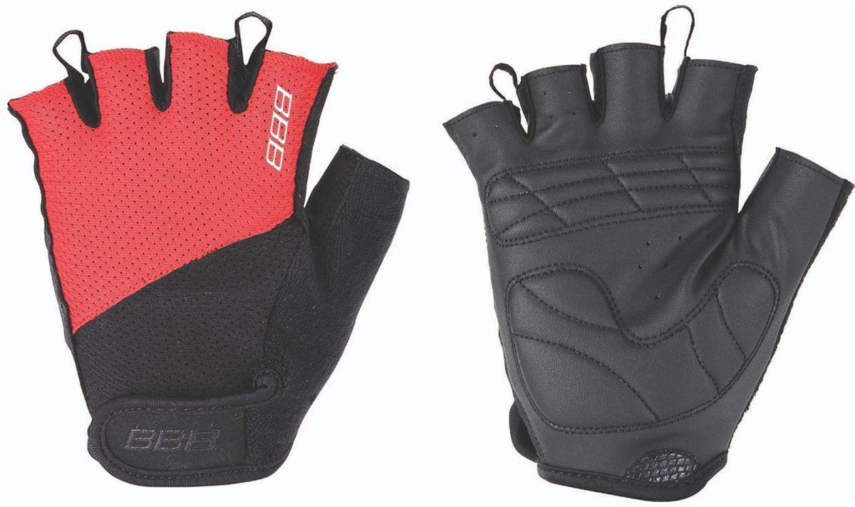 """Перчатки велосипедные BBB """"Chase"""", цвет: черный, красный. BBW-49. Размер M"""