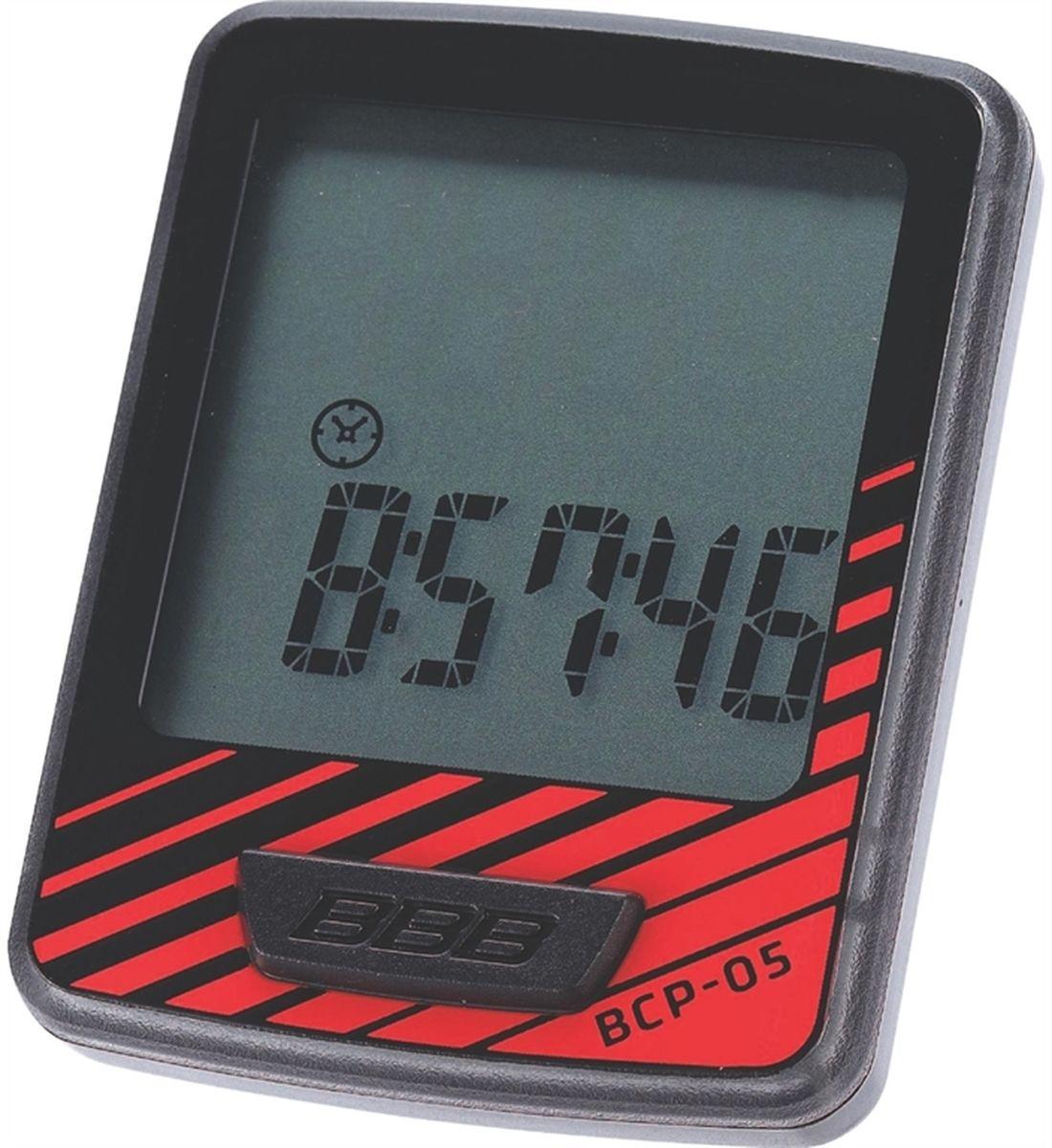 Велокомпьютер BBB DashBoard, цвет: черный, красный, 7 функций компьютер bbb dashboard 7 functions black