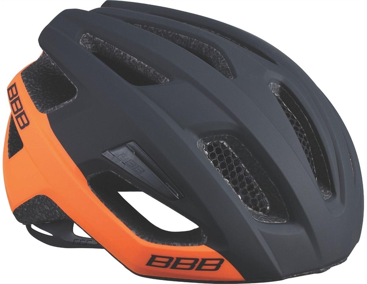 Шлем летний BBB Kite, цвет: черный, оранжевый. Размер L шлем боксерский clinch olimp цвет красный размер l 58 62 см