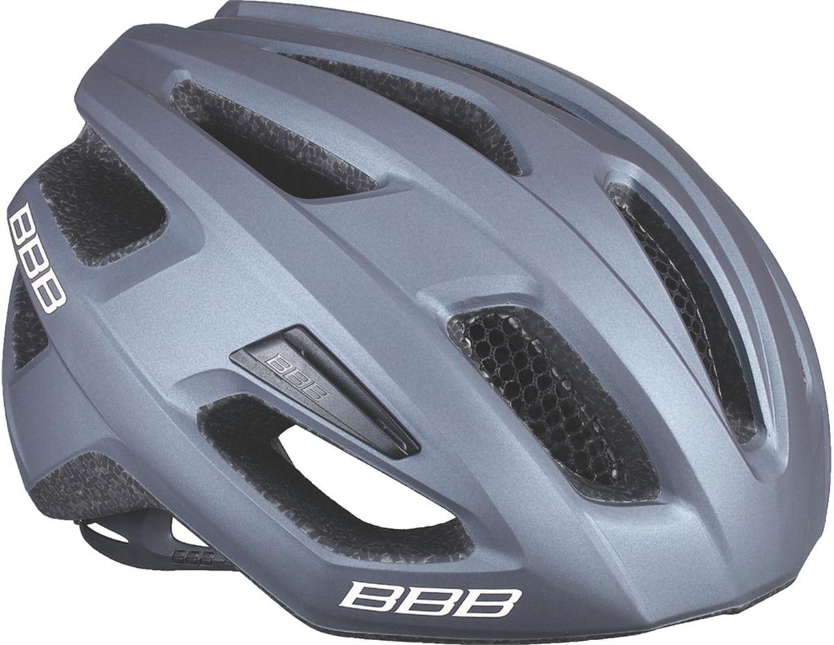 Шлем летний BBB Kite, цвет: серый, черный. Размер MZ90 blackЕсли вы в поисках по-настоящему универсального шлема, то BBB Kite - именно то, что нужно. Продуманная конструкция предельно функциональна. Катаетесь ли вы по шоссе, или по трейлам - с BBB Kite вы всегда в безопасности. Низкопрофильная конструкция обеспечивает дополнительную защиту наиболее уязвимых участков головы. Поликарбонатная оболочка обеспечивает наилучшую защиту. Интегрированная конструкция.14 вентиляционных отверстий.Отверстия для вентиляции в задней части шлема для оптимального распределения потоков воздуха.Сетка для защиты от залетающих в шлем насекомых.Настраиваемые ремешки для максимально комфортной посадки.Простая в использовании система настройки TwistClose.Съёмный козырёк со скрытым креплением.Съемные мягкие накладки с антибактериальными свойствами и возможностью стирки.Светоотражающие наклейки на задней части шлема.Обхват головы: 55-58 см.