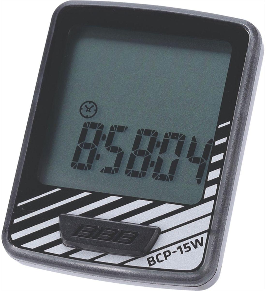 Велокомпьютер BBB DashBoard , цвет: черный, серебристый, 10 функцийMW-1462-01-SR серебристыйВелокомпьютер BBB DashBoard стал, в своем роде, образцом для подражания. Появившись как простой и небольшой велокомпьютер с большим и легкочитаемым экраном, он эволюционировал в любимый прибор велосипедистов, которым нужна простая в использовании вещь без тысячи лишних функций. Общий размер велокомпьютера имеет небольшой размер за счет верхней части корпуса. Размер экрана 32 х 32 мм, позволяющие легко считывать информацию. Управление одной кнопкой.Функции:Текущая скоростьРасстояние поездкиОдометрЧасыАвтоматический переход функцийСредняя скоростьМаксимальная скоростьВремя поездкиАвто старт/стопИндикатор низкого заряда батареи.Особенности:Легко читаемый полноразмерный дисплей.Удобное управление с помощью одной кнопки.Компьютер может быть установлен на руле и выносе.Водонепроницаемый корпус.Батарейка в комплекте.