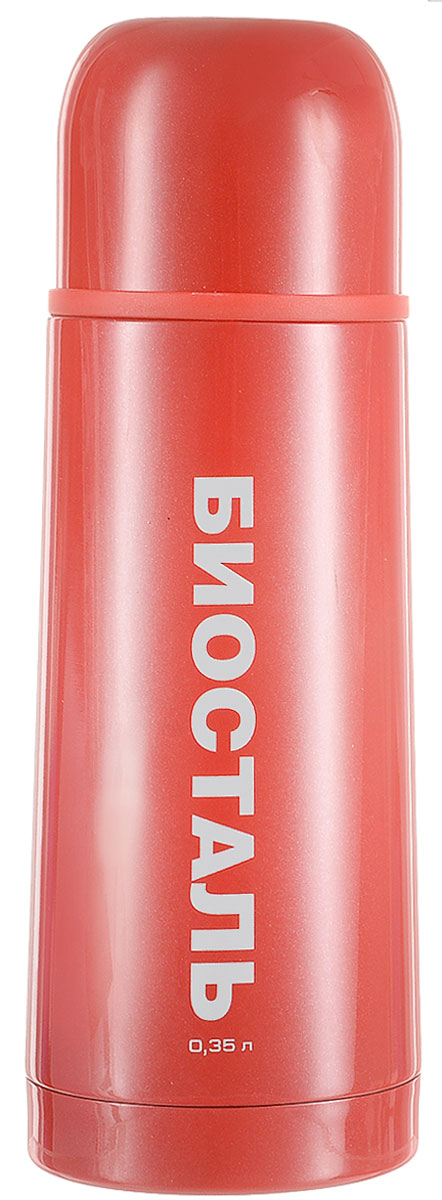 Термос Biostal Flёr, цвет: красный, 350 млAS009Термос с узким горлом Biostal Flёr, изготовленный из высококачественной нержавеющей стали 18/8, покрыт износостойким лаком. Такой термос прост в использовании, экономичен и многофункционален. Термос предназначен для хранения горячих и холодных напитков (чая, кофе) и укомплектован пробкой с кнопкой. Такая пробка удобна в использовании и позволяет, не отвинчивая ее, наливать напитки после простого нажатия. Изделие также оснащено крышкой-чашкой. Легкий и прочный термос Biostal Flёr сохранит ваши напитки горячими или холодными надолго. Высота термоса (с учетом крышки): 19,5 см.Диаметр горлышка: 4,3 см.