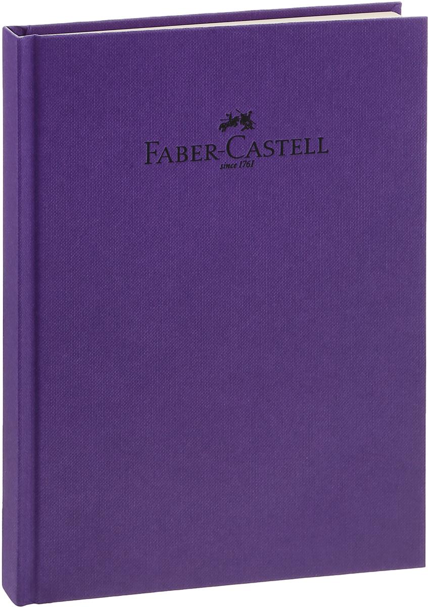Faber-Castell Блокнот Natural 70 листов в линейку цвет фиолетовый72523WDБлокнот Faber-Castell Natural - незаменимый атрибут современного человека, необходимый для рабочих и повседневных записей в офисе и дома.Обложка блокнота выполнена из плотного картона и оформлена надписью бренда. Внутренний блок состоит из 70 листов бумаги светло-кремового цвета. Стандартная линовка в серую линейку без полей. Листы блокнота надежно сшиты, имеет ляссе.