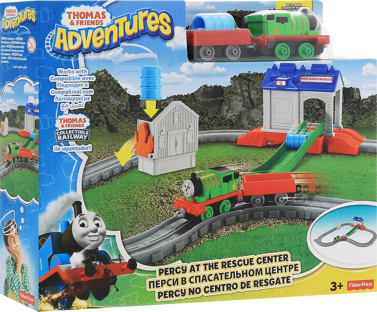 Thomas & Friends Железная дорога Перси в спасательном центре FBC57 - Железные дороги