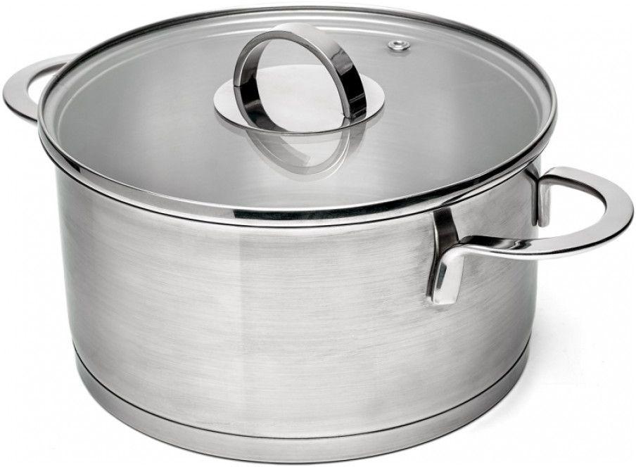 Кастрюля Walmer Chester с крышкой, 4,5 лASS517Кастрюля Walmer Chester изготовлена из нержавеющей стали, которая не ржавеет и не деформируется. На внутренней стороне нанесена удобная мерная шкала. Капсулированное дно быстро и равномерно нагревается, благодаря чему продукты быстро готовятся. Стеклянная крышка с пароотводом позволяет следить за процессом приготовления пищи.Подходит для всех плит, включая индукционные.Диаметр кастрюли: 22 см.Объем кастрюли: 4,5 л.