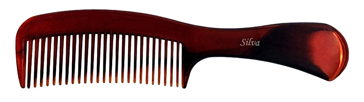 Silva Расческа для волос малая, цвет: черныйMP59.4DКоллекция Silva Black-это расчески, щетки и брашинги для всех типов волос. Рельефные ручки сделаны из прорезиненного материала, что делает щетку нескользащей при расчесывание и укладке. Рекомендуется для профессионалов. Расческа для укладки волос.
