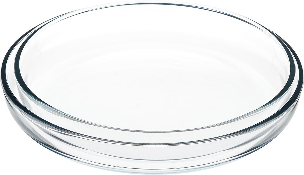 Набор форм для запекания Helper Gurman, 2 шт4542Набор Helper Gurman состоит из двух форм для запекания. Формы изготовлены из жаропрочного стекла. Стеклянная огнеупорная посуда идеальна для приготовления блюд в духовке, микроволновой печи, а также для хранения продуктов в холодильнике и морозильной камере. Безопасна с точки зрения экологии. Не вступает в реакции с готовящейся пищей, не боится кислот и солей. Не ржавеет, в ней не появляется накипь. Не впитывает запахи и жир. Благодаря прозрачности стекла, за едой можно наблюдать при ее готовке. Изделия оснащены небольшими ручками.Можно мыть в посудомоечной машине.Размеры форм: 26 х 26 х 4,5 см, 28 х 28 х 4,5 см.