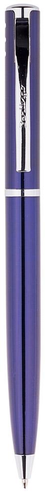 Berlingo Ручка шариковая Silver Standard цвет корпуса синий730396Элегантная автоматическая шариковая ручка Berlingo Silver Standard с поворотным механизмом. Имеет оригинальный дизайн зоны клипа. Цвет чернил - синий. Диаметр пишущего узла - 0,7 мм. Подходит для нанесения логотипа. Ручка упакована в индивидуальный пластиковый футляр.