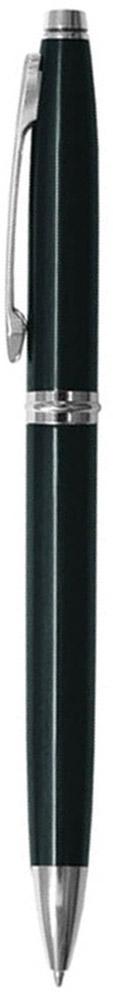 Классическая автоматическая шариковая ручка Berlingo Silver Classic с поворотным механизмом. Клип, наконечник и кольцо выполнены из металла. Цвет чернил - синий. Диаметр пишущего узла - 0,7 мм. Подходит для нанесения логотипа. Ручка упакована в индивидуальный пластиковый футляр.