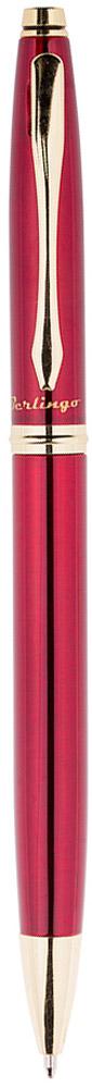 Berlingo Ручка шариковая Silver Luxe цвет корпуса бордовый96215Классическая автоматическая шариковая ручка Berlingo Silver Luxe с поворотным механизмом. Клип, наконечник и кольцо выполнены из жёлтого металла. Цвет чернил - синий. Диаметр пишущего узла - 0,7 мм. Подходит для нанесения логотипа. Ручка упакована в индивидуальный пластиковый футляр.