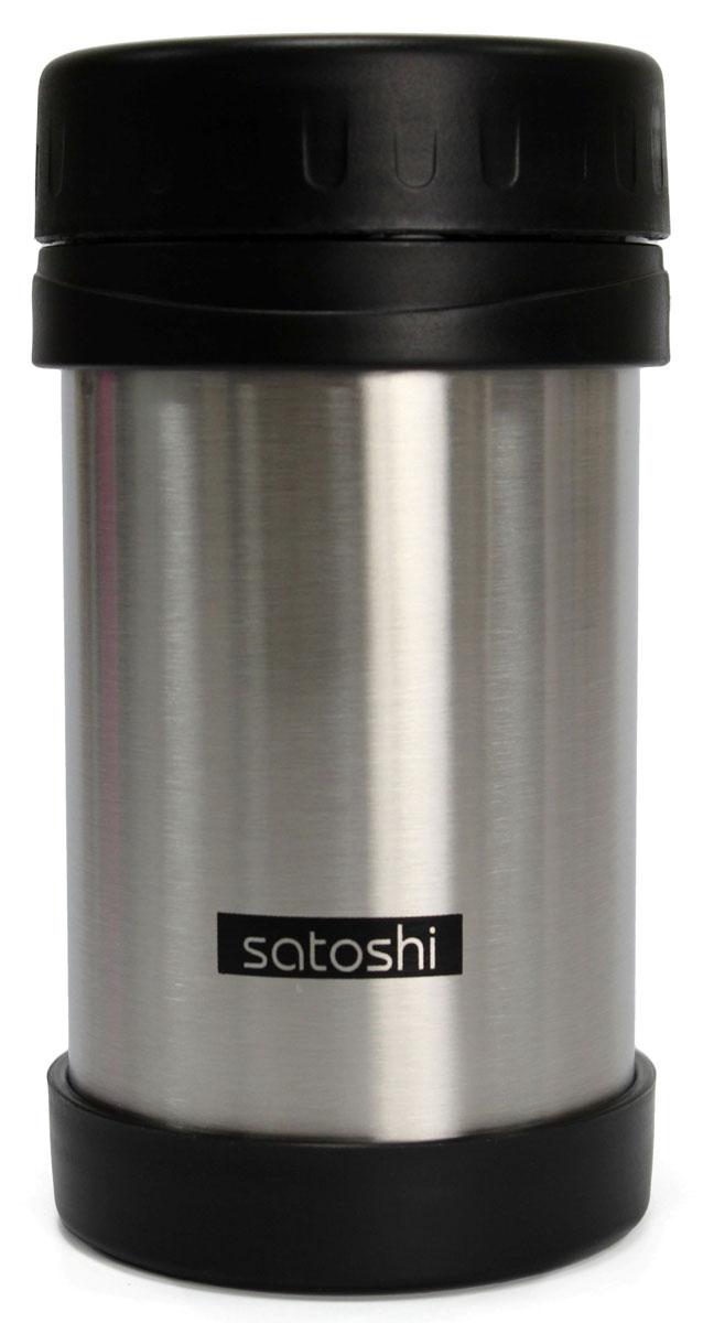 Термос-кружка Satoshi Vetta, с широким горлом, 500 млVT-1520(SR)Вакуумная кружка-термос Satoshi Vetta удобна для использования в быту, походе и путешествиях. Подходит для горячих и холодных напитков. Оснащена крышкой с системой быстрого открывания для легкого питья. Внешняя и внутренняя стенки выполнены из нержавеющей стали. Подходит для автомобильных держателей стаканов.