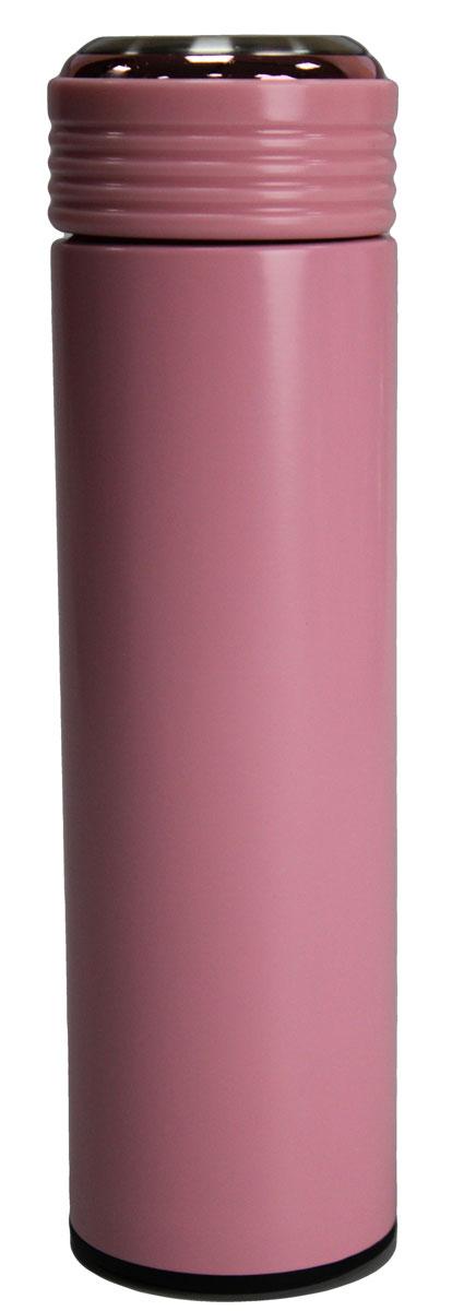 Термос Vetta, 450 млVT-1520(SR)Термос Vetta, изготовленный из высококачественной нержавеющей стали, прост в использовании и многофункционален. Изделие имеет двойные стенки, что позволяет содержимому долго оставаться горячим или холодным.Термос сохраняет температуру горячих или холодных продуктов до 24 часов.