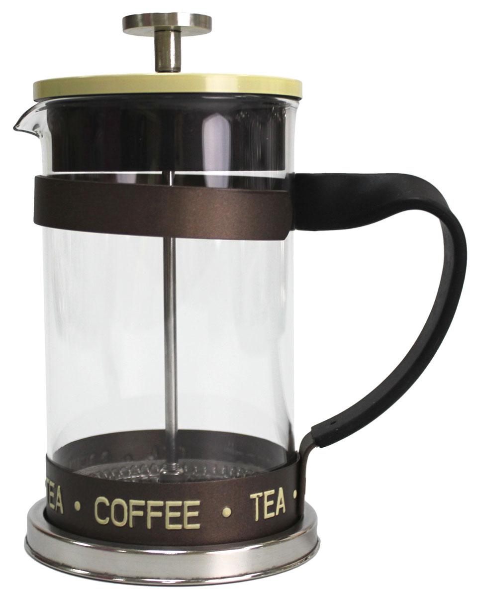 Френч-пресс Vetta Премиум, 600 млVT-1520(SR)Френч-пресс Vetta Премиум изготовлен из нержавеющей стали и жаропрочного стекла. Фильтр из нержавеющей стали. Френч-пресс позволит быстро и просто приготовить свежий и ароматный кофе или чай.