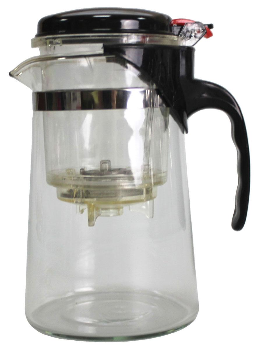Френч-пресс N/N, 750 мл54 009312Френч-пресс 750 мл изготовлен из пластика и жаропрочного стекла. Фильтр из нержавеющей стали. Френч-пресс позволит быстро и просто приготовить свежий и ароматный кофе или чай.