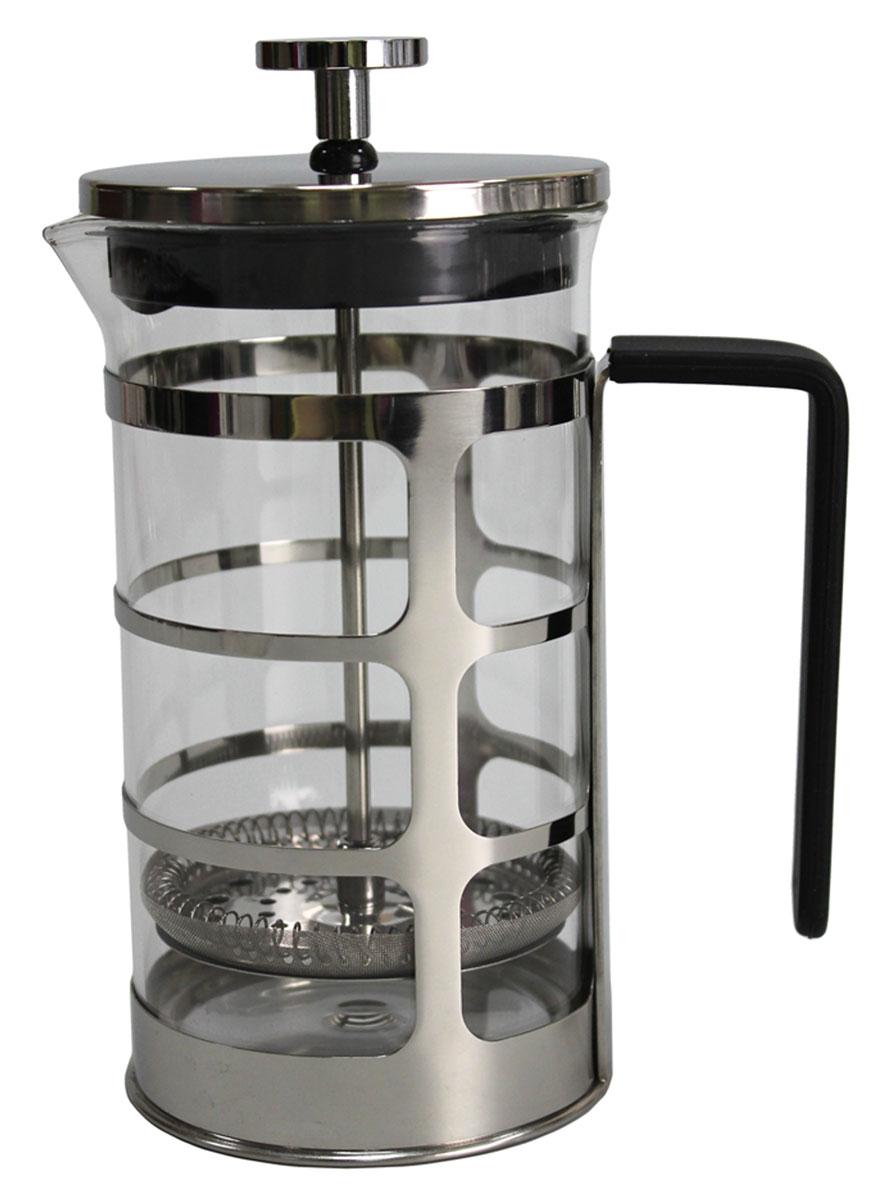 Френч-пресс Vetta Ферран, 600 млVT-1520(SR)Френч-пресс Vetta Ферран изготовлен из нержавеющей стали и жаропрочного стекла. Фильтр из нержавеющей стали. Френч-пресс позволит быстро и просто приготовить свежий и ароматный кофе или чай.