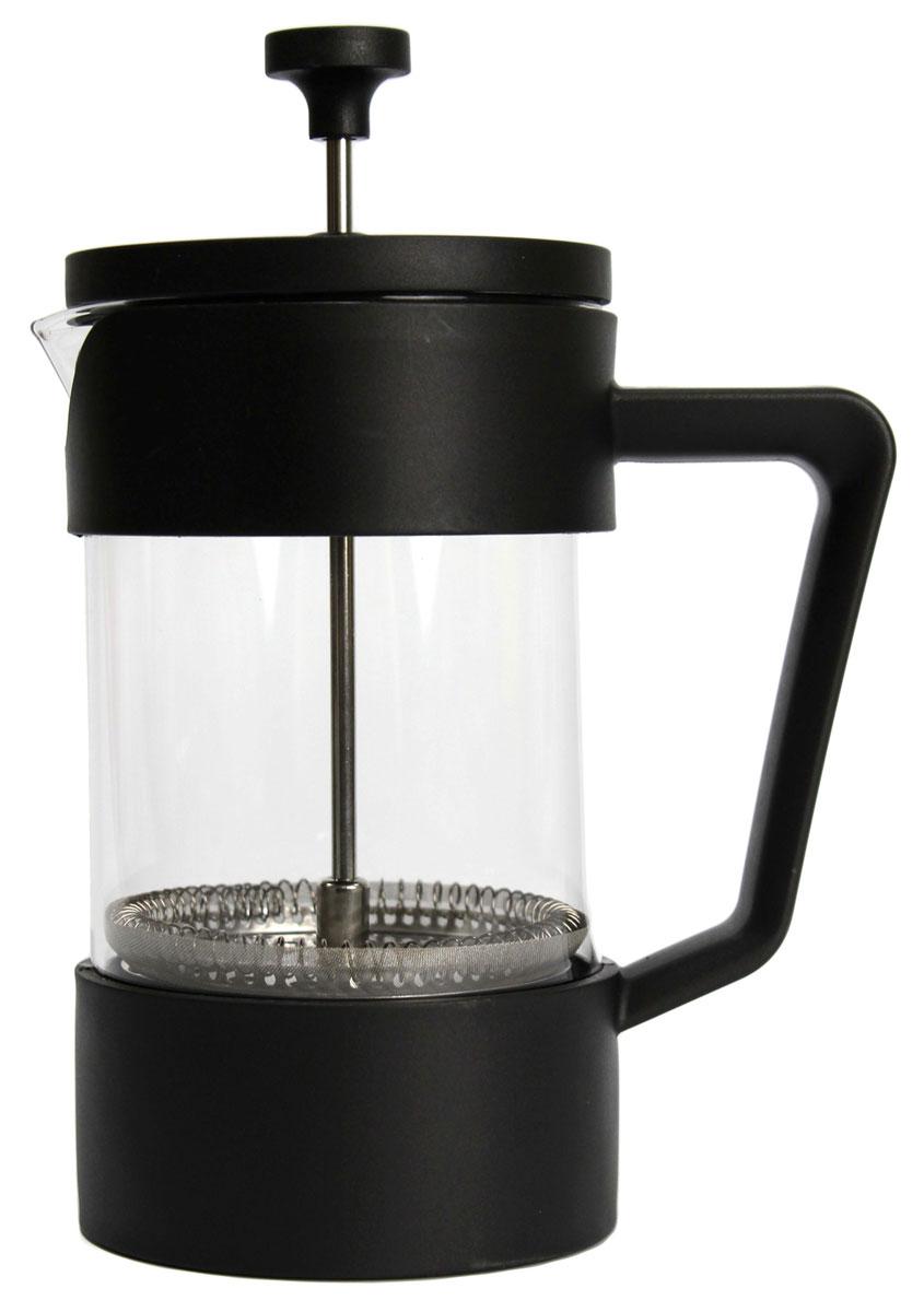 Френч-пресс Vetta Клермон, 600 мл54 009312Френч-прессVetta Клермон изготовлен из нержавеющей стали и жаропрочного стекла. Фильтр из нержавеющей стали. Френч-пресс позволит быстро и просто приготовить свежий и ароматный кофе или чай.
