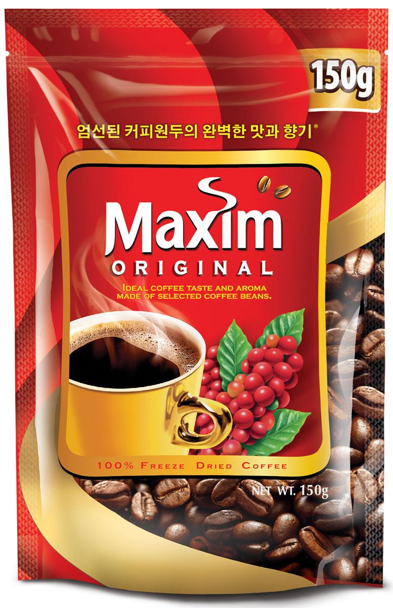 Maxim кофе натуральный растворимый сублимированный, 150 г4251201Maxim – это сублимированный кофе высокого качества по доступной цене. Это бренд №2 в Сибири и на Дальнем Востоке. Ведет свою историю с 1971 года. Представлен двумя вкусами – Original и Mild. Maxim Original - это идеально сбалансированный вкус и притягательный аромат, приготовлен из отборных кофейных зёрен.