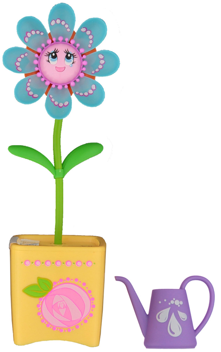 Magic Blooms Интерактивная игрушка Волшебный цветок цвет голубой желтый