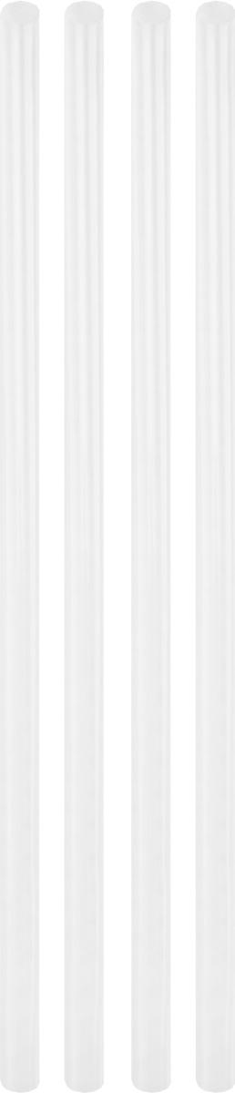 Клей Gluemaster, для маленьких клеевых истолетов, 4 штFS-54100Клей Gluemaster предназначен для ремонта и склейки изделий из дерева, бумаги, пластика, картона, тканей, декоративных украшений. Подходит для малых клеевых пистолетов.Преимущества:- поток расплавленного клея медленнее, что способствует большей экономичности,- при работе не растекается.Длина стержня: 30 см.Диаметр: 7,2 мм.Диапазон плавления: 100-120°C.Товар сертифицирован.