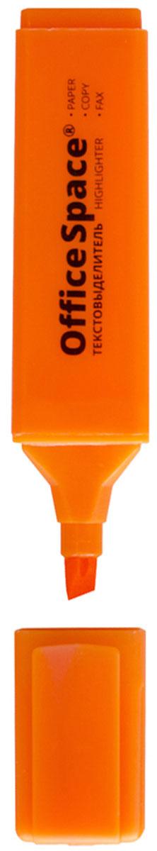 OfficeSpace Текстовыделитель цвет оранжевый H_26472523WDТекстовыделитель OfficeSpace с флуоресцентными чернилами на водной основе. Удобный клип. Скошенный наконечник позволяет подчеркнуть нужное от 1 до 5 мм. Цвет колпачка и торцевого элемента соответствует цвету чернил.