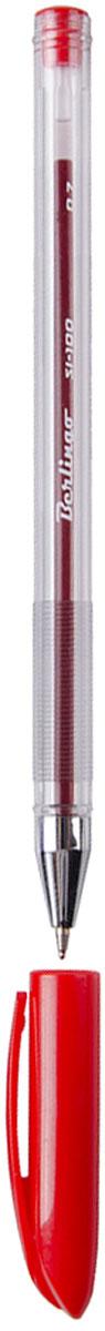 Berlingo Ручка шариковая SI-100 краснаяCBp_07216Шариковая ручка Berlingo SI-100 с колпачком и пластиковым клипом. Технология Smart Ink обеспечивают супермягкое письмо. Прозрачный корпус, металлический наконечник. Вентилируемый колпачок. Цвет деталей соответствует цвету чернил. Диаметр пишущего узла - 0,7 мм. Рифление в зоне захвата препятствует скольжению пальцев при письме.