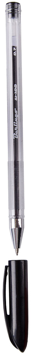 Berlingo Ручка шариковая SI-100 чернаяFS-00103Шариковая ручка Berlingo SI-100 с колпачком и пластиковым клипом. Технология Smart Ink обеспечивают супермягкое письмо. Прозрачный корпус, металлический наконечник. Вентилируемый колпачок. Цвет деталей соответствует цвету чернил. Диаметр пишущего узла - 0,7 мм. Рифление в зоне захвата препятствует скольжению пальцев при письме.