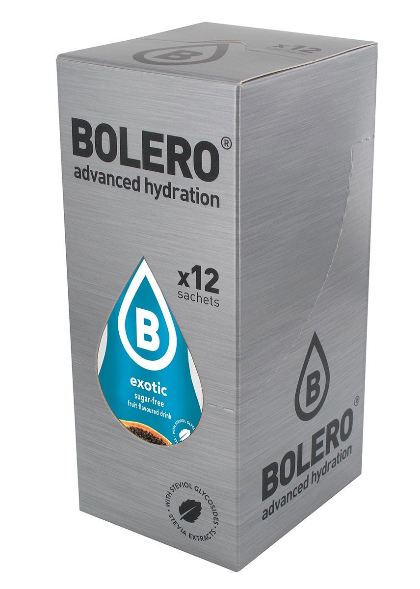 Напиток быстрорастворимый Bolero  Exotic / Экзотические фрукты , 9 г х 12 шт - Изотонические напитки