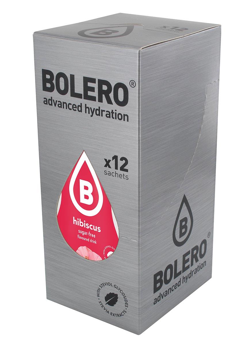 Напиток быстрорастворимый Bolero  Hibiscus / Гибискус , 9 г х 12 шт - Изотонические напитки