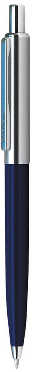 Berlingo Ручка шариковая Silver Arrow цвет корпуса синий серебристый730396Шариковая ручка Berlingo Silver Arrow с синими чернилами. Имеет кнопочный механизм подачи стержня. Корпус ручки сделан из меди. Сама ручка выполнена в синем и хромированном цветах. Толщина линии - 0.7 мм. Ручка продается в пластиковом футляре.