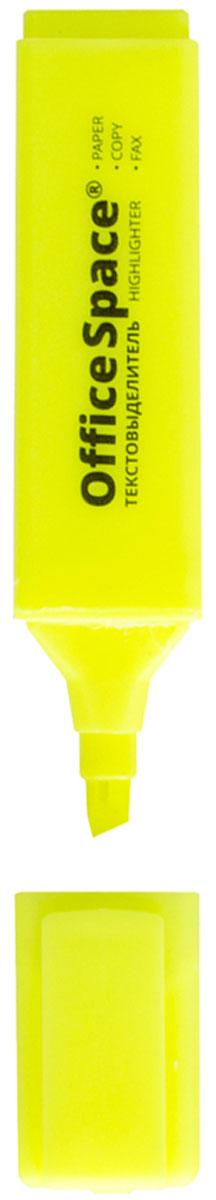 OfficeSpace Текстовыделитель цвет желтый H_260H_260ТекстовыделительOfficeSpace H_260 с флуоресцентными чернилами на водной основе. Удобный клип. Цвет колпачка и торцевого элемента соответствует цвету чернил. Скошенный наконечник, который помогает выделить текст толщиной линии от 1 до 5 мм. Цвет чернил - желтый.
