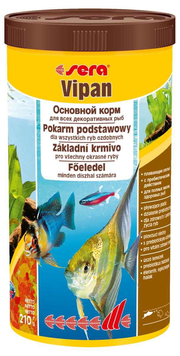 Корм для рыб Sera Vipan, 1 л (210 г)12171996Корм для рыб Sera Vipan - хорошо сбалансированный основной корм в виде хлопьев, содержащий более 40 ингредиентов. Идеально подходит для ежедневного кормления всех декоративных рыб в общих аквариумах. Сбалансированный состав удовлетворяет потребности множества видов. Бережная обработка гарантирует сохранение ценных ингредиентов (например, жирных кислот Омега, витаминов и минералов). Белки и другие питательные вещества делают этот корм высокопитательным и легко перевариваемым рыбами. Формула Vital-Immun-Protect гарантирует вашим рыбам прекрасное здоровье, укрепление иммунитета и обилие жизненных сил. Специальный метод приготовления позволяет хлопьям сохранять свою форму в течение длительного времени, не загрязняя воду. Хлопья в то же время очень нежны и поэтому охотно поедаются рыбой. Ингредиенты: рыбная мука, пшеничная мука, пивные дрожжи, казеинат кальция, гаммарус, яичный порошок, рыбий жир, маннанолигосахарид (MOS 0,4%), спирулина, травы, люцерна, крапива, мука из зеленых губчатых моллюсков, водоросли, зелень петрушки, перец, шпинат, чеснок, морковь, красители, разрешенные в ЕС. Аналитический состав: протеины 46,2%, жиры 8,9%, клетчатка 2,3%, зола 11,9%, влажность 6,7%. Витамины и провитамины на кг: витамин А 37000МЕ, витамин В1 35 мг, витамин В2 90 мг, витамин С 550 мг, витамин D3 1800МЕ, витамин Е 120 мг. Товар сертифицирован.