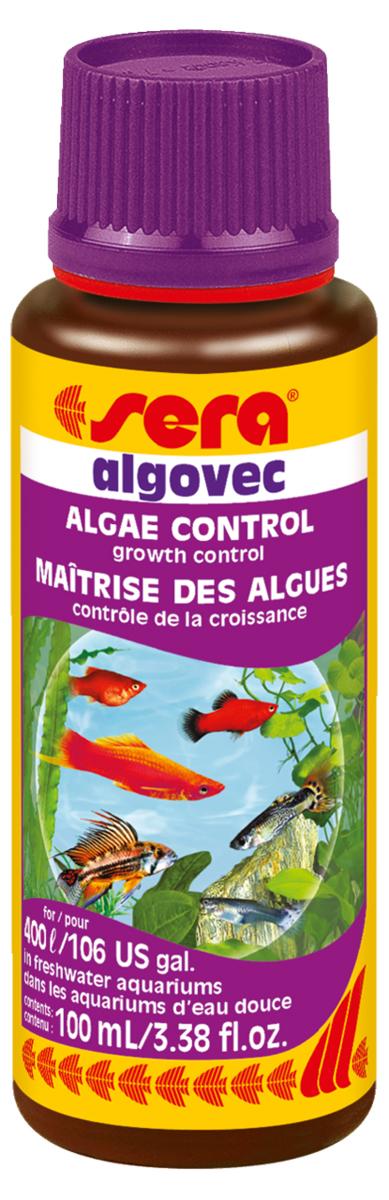 Средство против водорослей Sera Algovec, 100 мл
